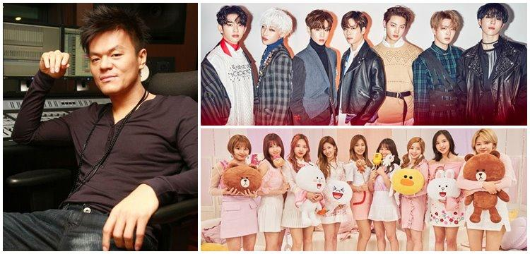 JYP's shares rise 172 9% after 11 months thanks to GOT7,Twice