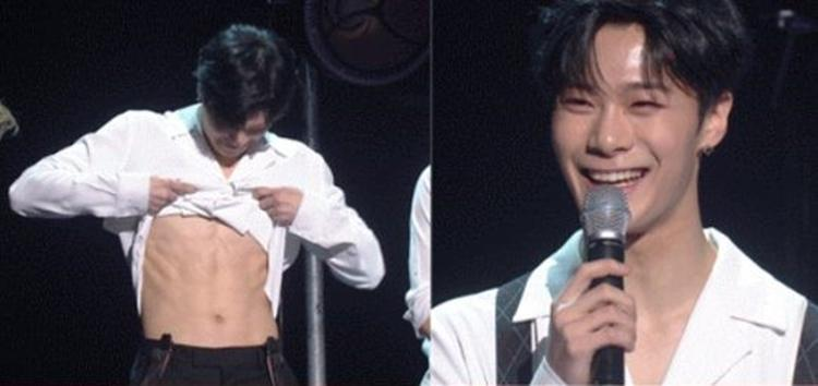 Moonbin (Astro) shows off sexy six-pack in 'Immortal Songs 2'