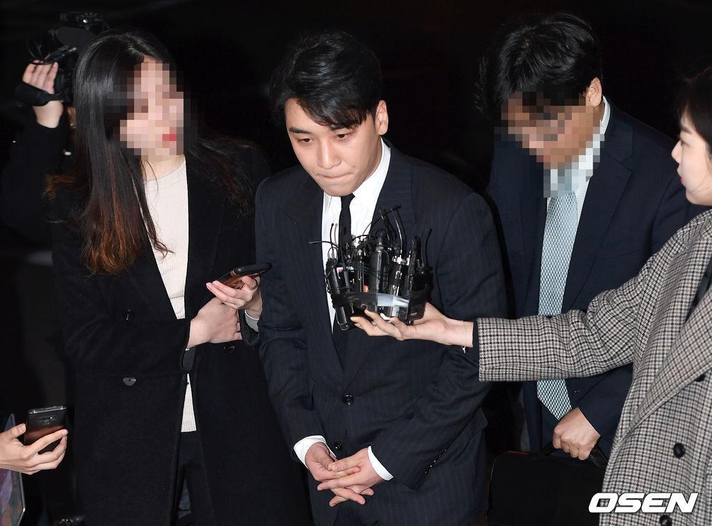 Menurut YG Entertainment keputusan Seungri itu sebelumnya tidak didiskusikan dahulu dengan mereka (dok. Osen)