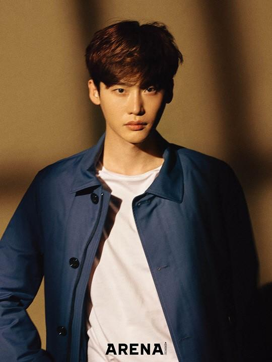 Lee Jong Suk masculine in new pictorial photos