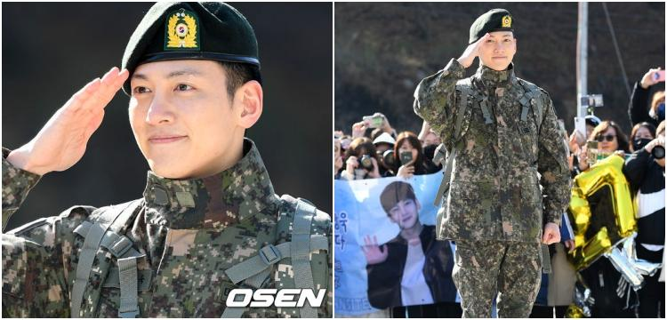 Ji Chang Wook demobilizes in fans' warm welcome