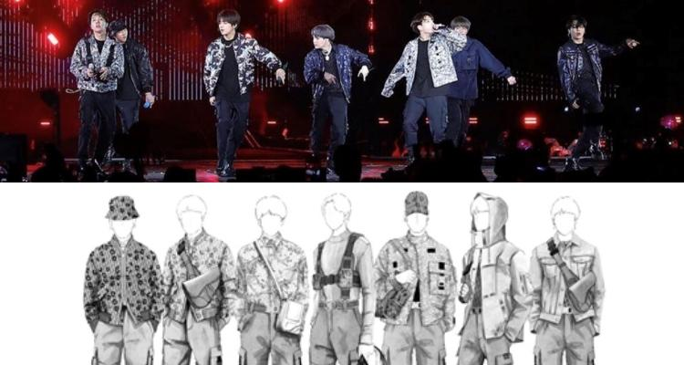 BTS charismatic in Dior's designs on Rose Bowl stage
