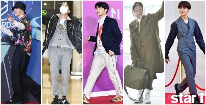 J-Hope (BTS) and his tip-top and unique fashion style