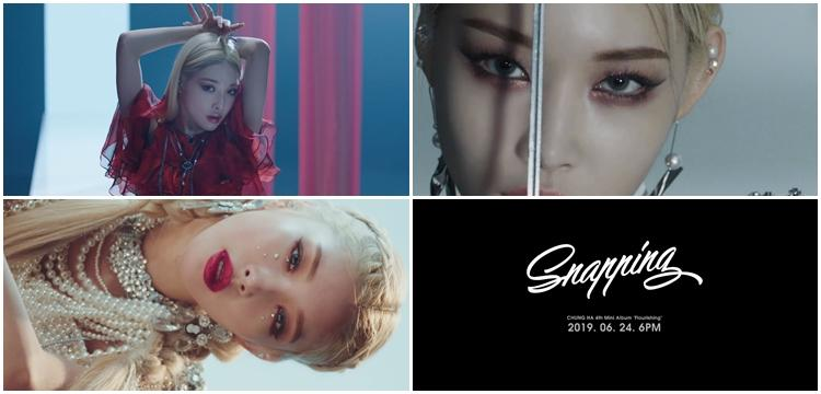 Chungha Enthralling In Mv Teaser For New Song Snapping