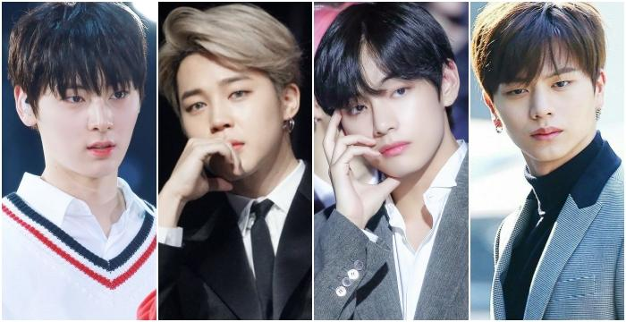 4 Kpop Male Idols Born In 1995 And Have Ethereal Visuals Allkpop