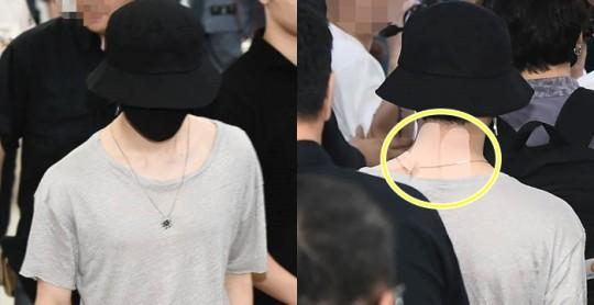 Jimin BTS membuat fans khawatir karena terlihat mengenakan koyo anti nyeri setelah konser di Jepang.