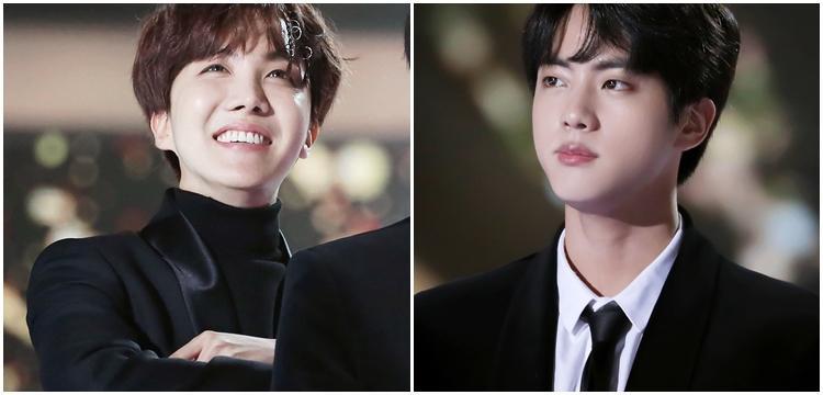 Jungkook, Jin, j-hope