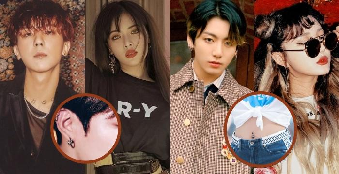Unique And Sexy Piercings Of Kpop Idols