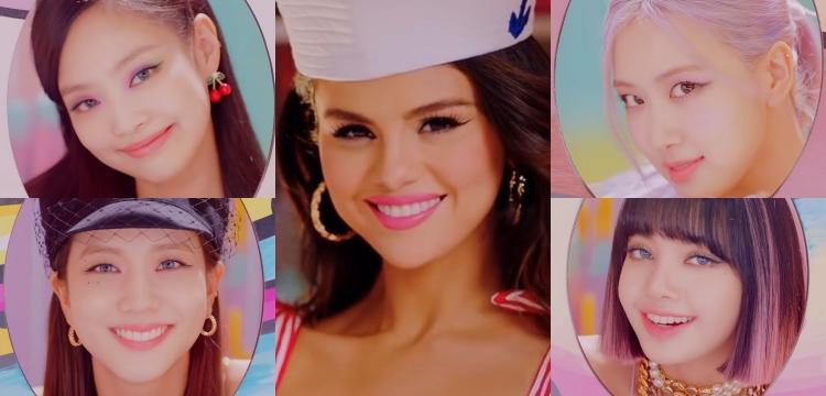 "Blackpink - Selena Gomez flaunt sweet and lovely look in MV teaser for ""Ice  Cream"""