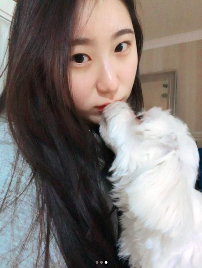 Chae Yeon (IZone) spends Chuseok holiday with puppy